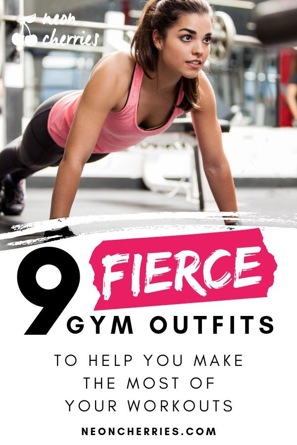Who says you can�t look good while pumping iron? Here are nine ideas for cute gym outfits you won�t...
