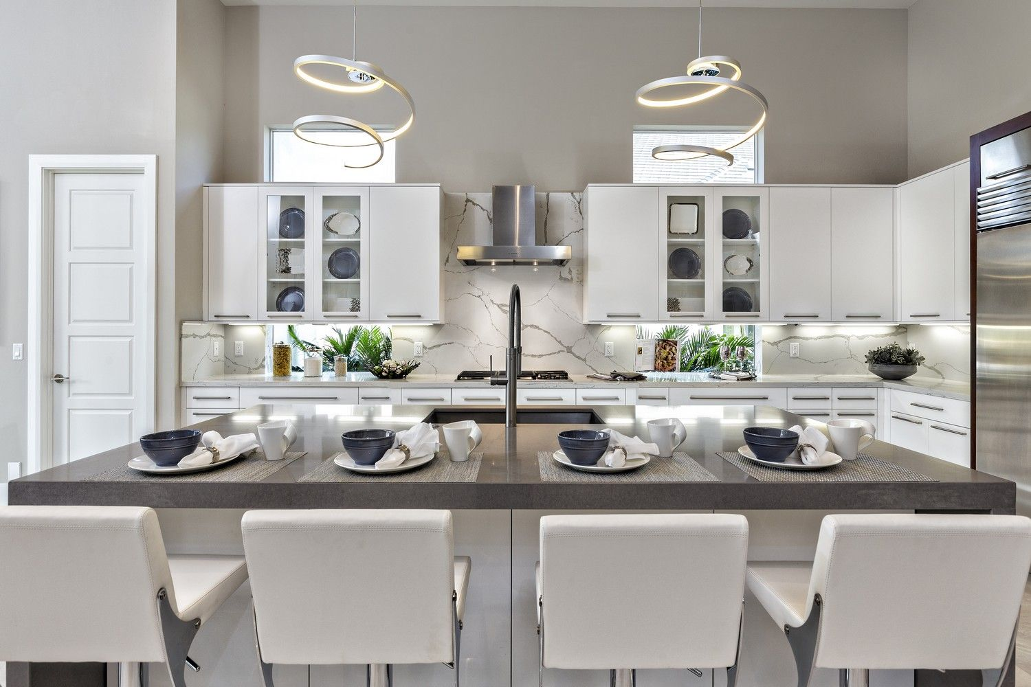 We love everything about this kitchen design! What's one ...