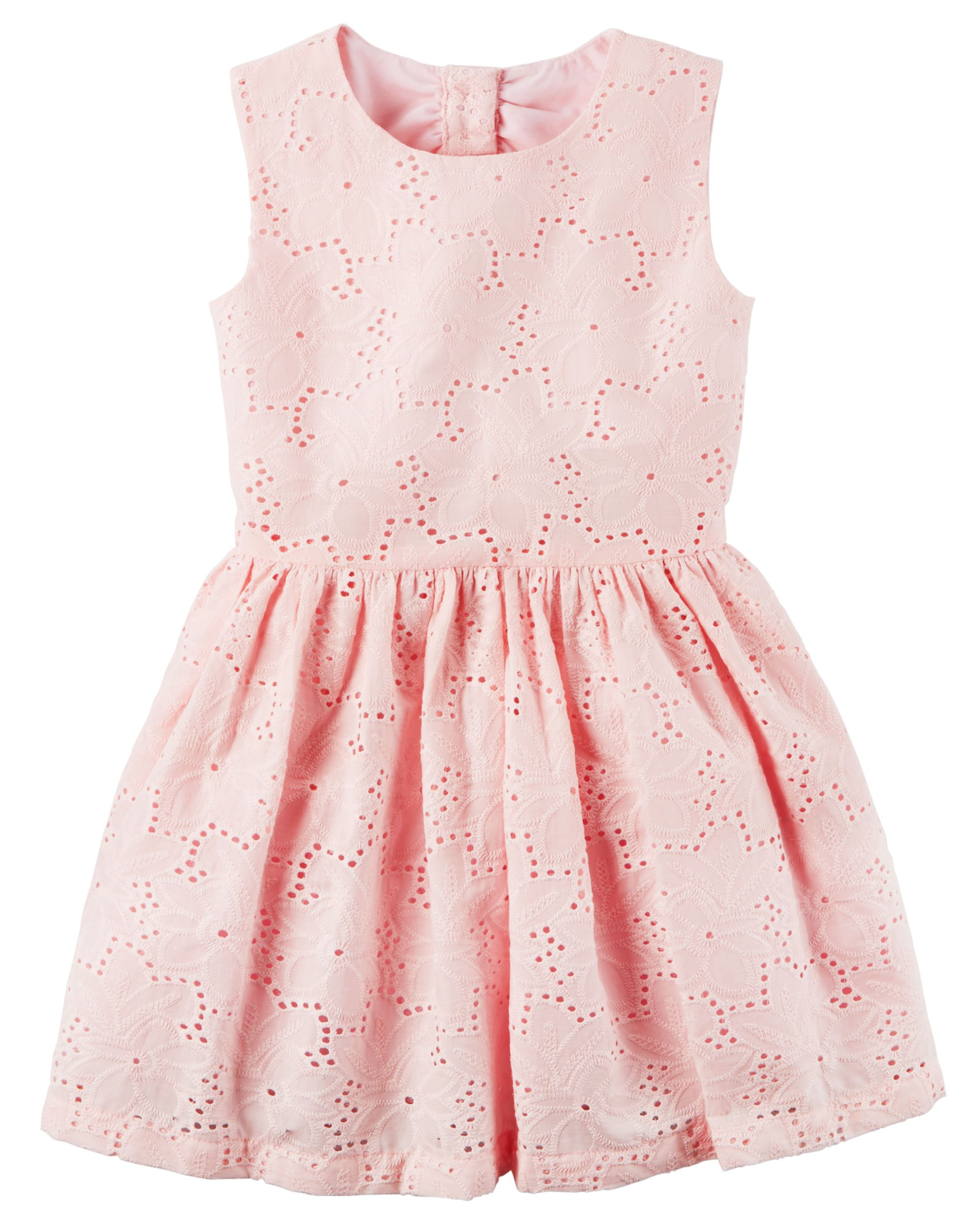 Floral Eyelet Dress | Toddler girls, Babies clothes and Kids girls