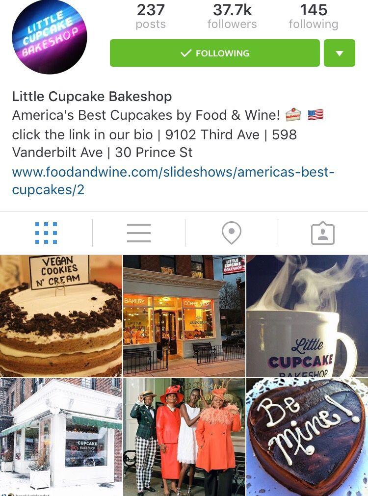 NYC bakery: Little cupcake shop