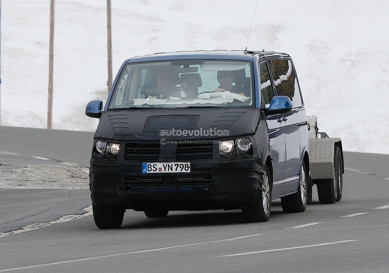 New T6 Volkswagen Transporter Reveals More Interior Details in ...