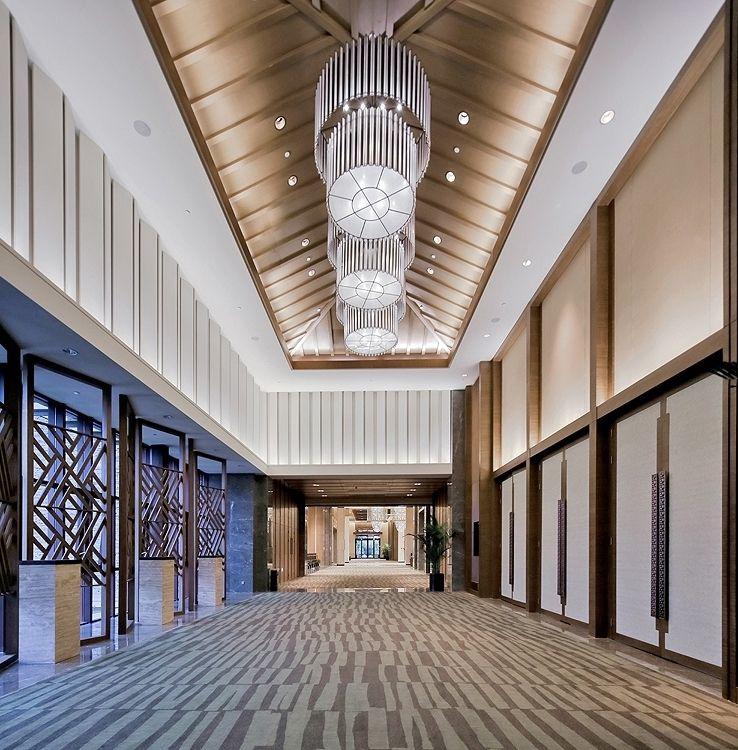 Banquet Hall Design: ƭ�汉光谷希尔顿酒店 Hilton Wuhan Optics Valley