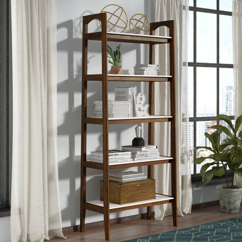 Erin Ladder Bookcase Reviews Allmodern Ladder Bookcase Etagere Bookcase Bookcase