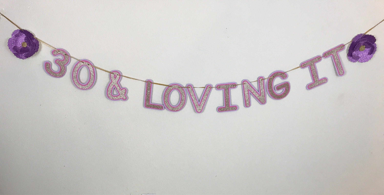 30 loving it bannerfloral bannerflower banner pink and purple 30 loving it bannerfloral bannerflower banner pink and purple decor izmirmasajfo Images