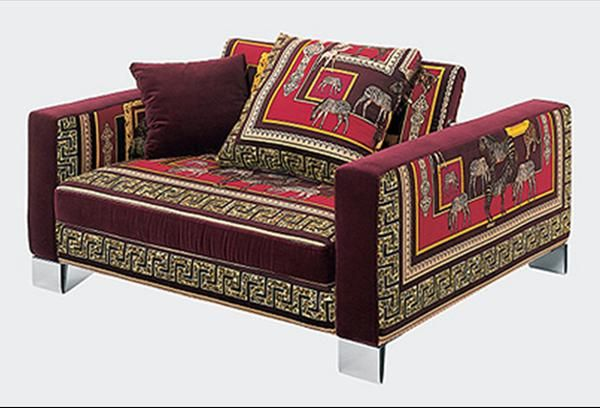 Jaipur Armchair Versace Home Collection Versace Home Versace Furniture Indian Living Room Design