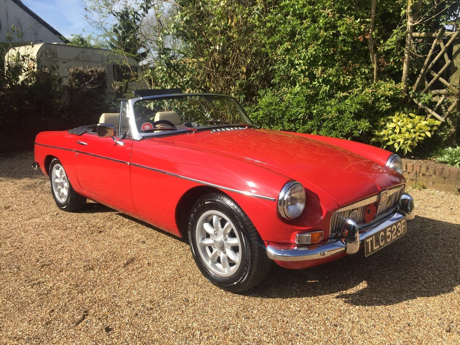 eBay: 1968 MGB ROADSTER 1800CC MANUAL WITH OVERDRIVE FLAME