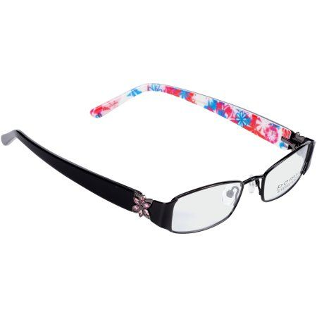 bb605297bd Buy Pomy Eyewear Rx-able Eyeglass Frames 386 Pink Bloom at Walmart.com