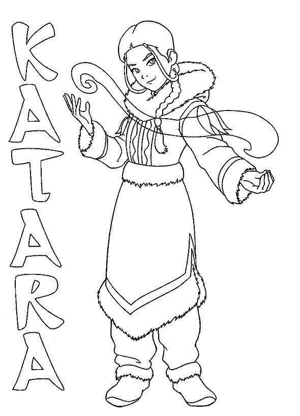 Avatar The Last Airbender Katara Uses Water Control | Avatar The ...