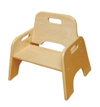 Ecr4kids Wooden Toddler Chairs 8 Set Of 2 Montessori Styled