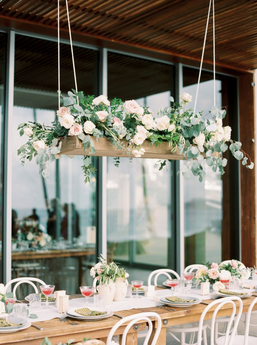 Wedding decorations for outside january 2019 Gorgeous Beachside Summer California Wedding with Garden Details