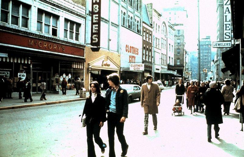 Capitol Street, Charleston, WV 1970s Charleston west