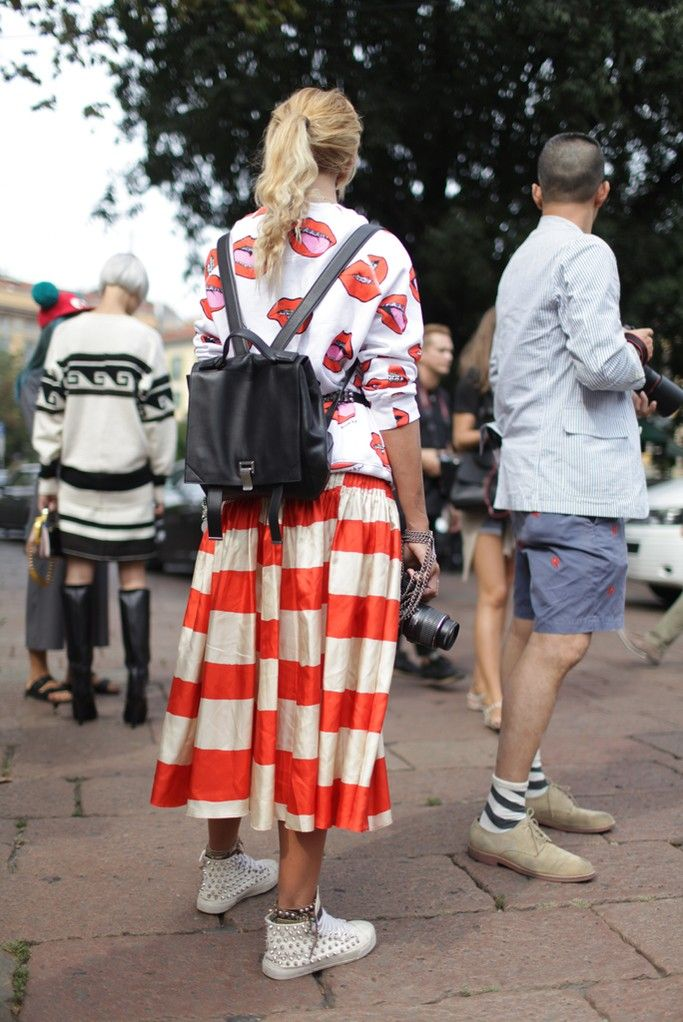Lush style! They Are Wearing: Milan Fashion Week - Slideshow