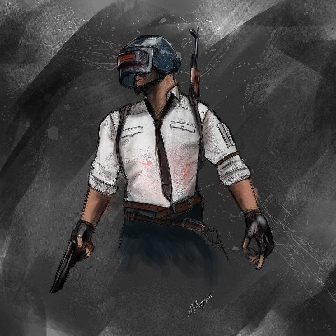 Regram @maxthler PUBG Recap #art #artwork #draw #drawings