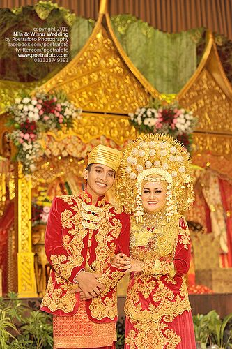 Foto Pernikahan Adat Padang Minangkabau Wedding Photo