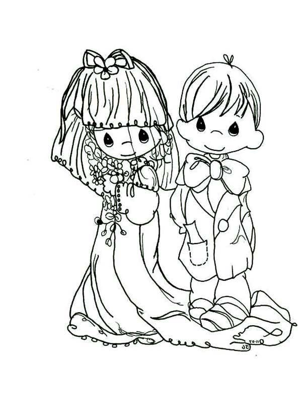 Free Precious Moments Wedding Coloring Pages For Kids 5092 Precious Moments Coloring Pages Wedding Coloring Pages Coloring Pages