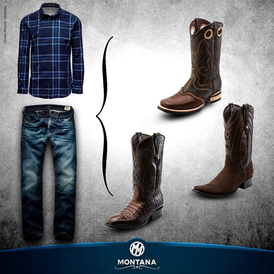 Outfit Prorodeo Montana Boots Botas Western Rodeo