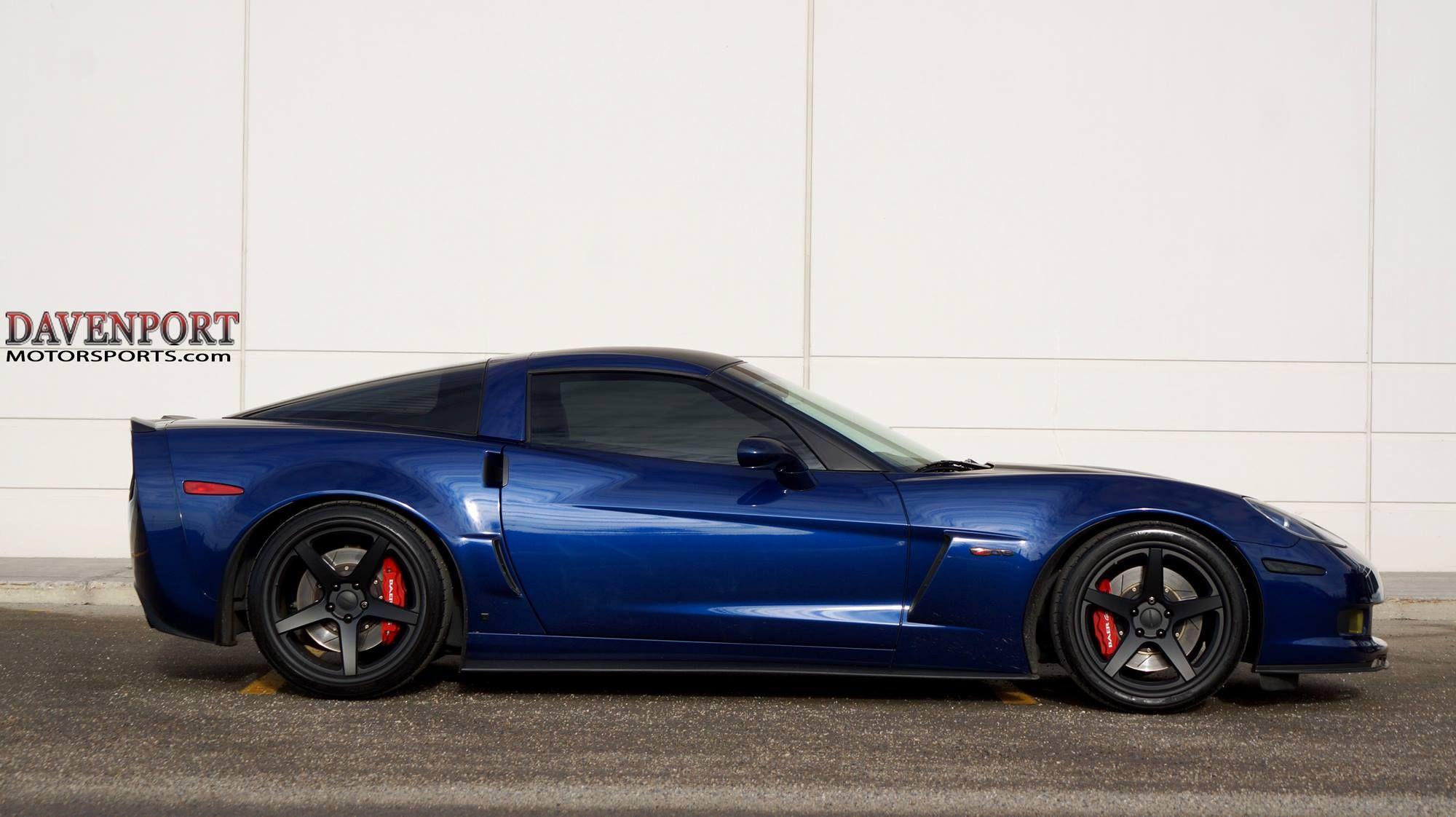 Davenport Motorsports built this C6 Corvette Z06 with