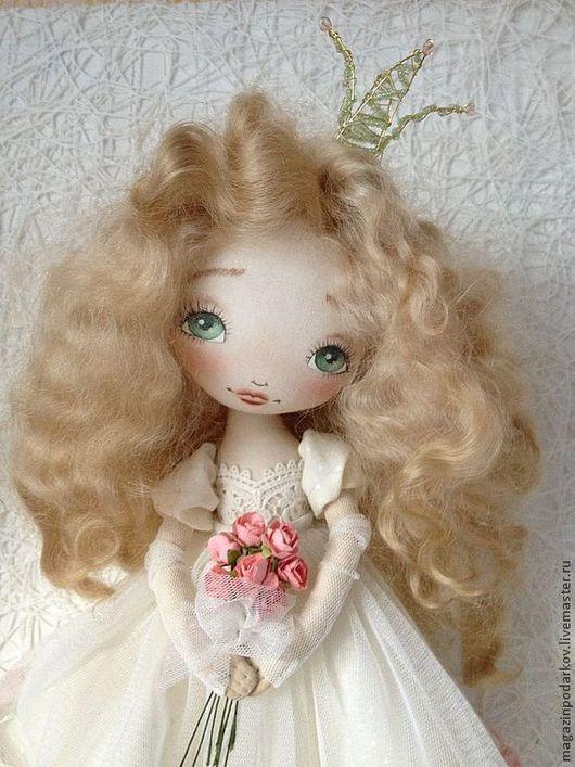 Коллекционные куклы ручной работы. Кукла Принцесса Апрелия. Магазин Моники. Ярмарка Мастеров. Кукла в подарок, корона, doll