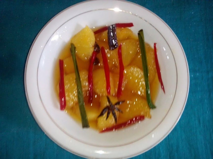 How To Make Pacri Food Typical Aceh Aceh Cara Peget Pacri Boh Nanas Steemit Food Recipes How To Make
