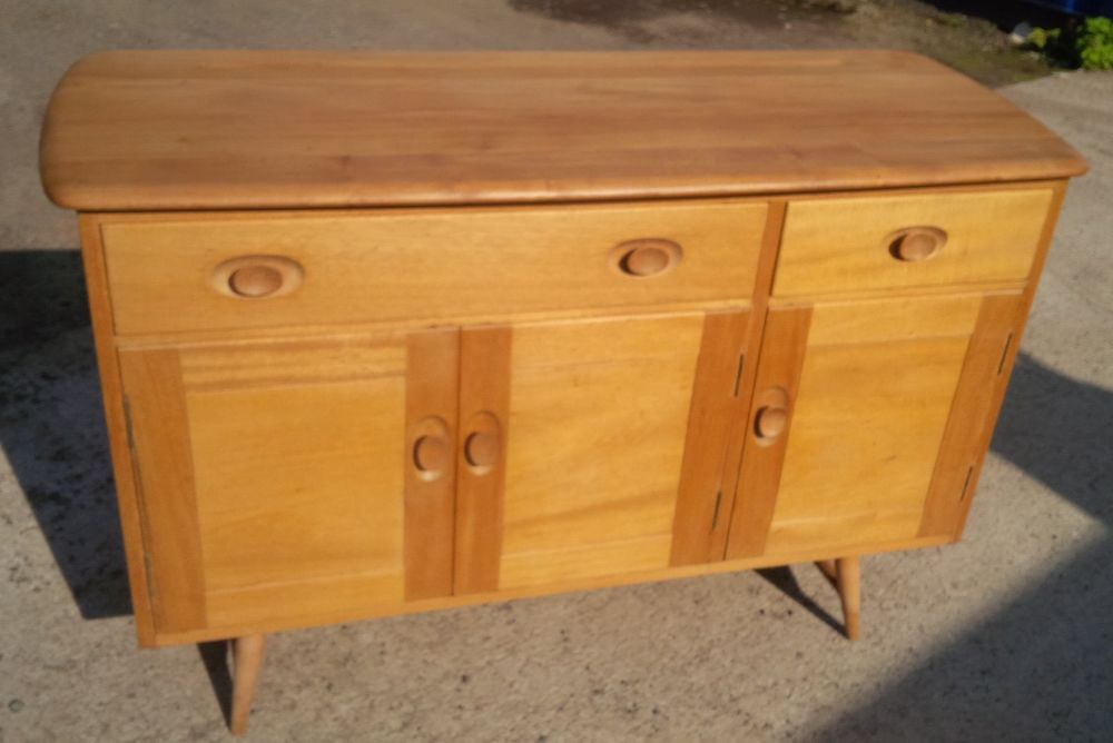 1960 39 s ercol sideboard mid century vintage excellent for Ercol mural cabinets and sideboards
