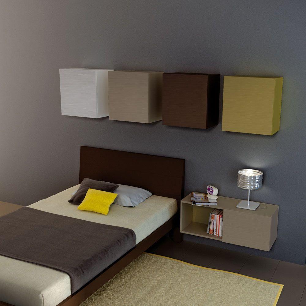 Comodini sospesi design ja67 regardsdefemmes - Comodini di design ...