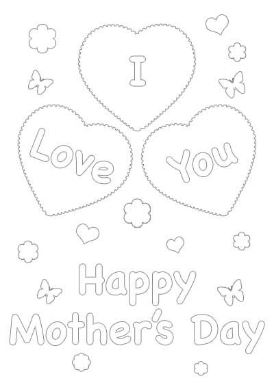 Free Printable Mothers Day Color Cards
