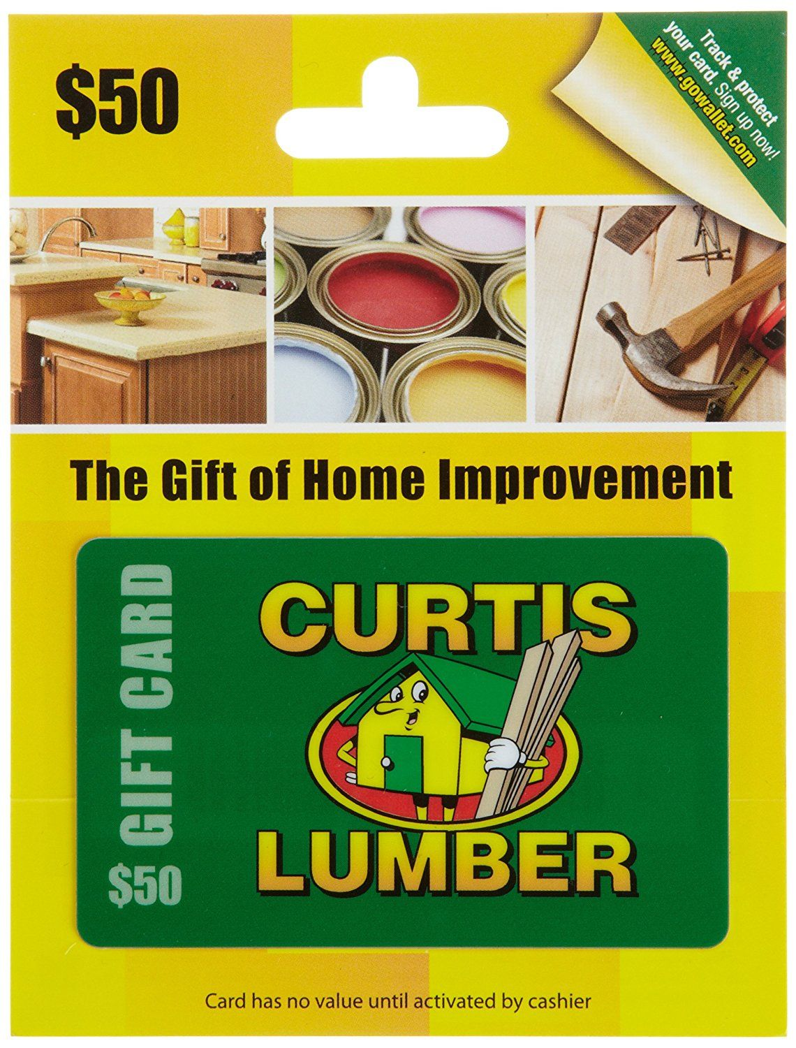 Curtis lumber gift card trust me this is great click