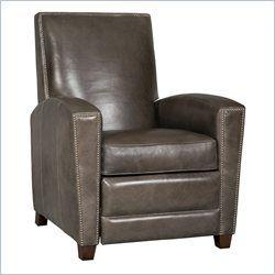 Hooker Furniture Seven Seas Recliner Chair in Zorro Carbon