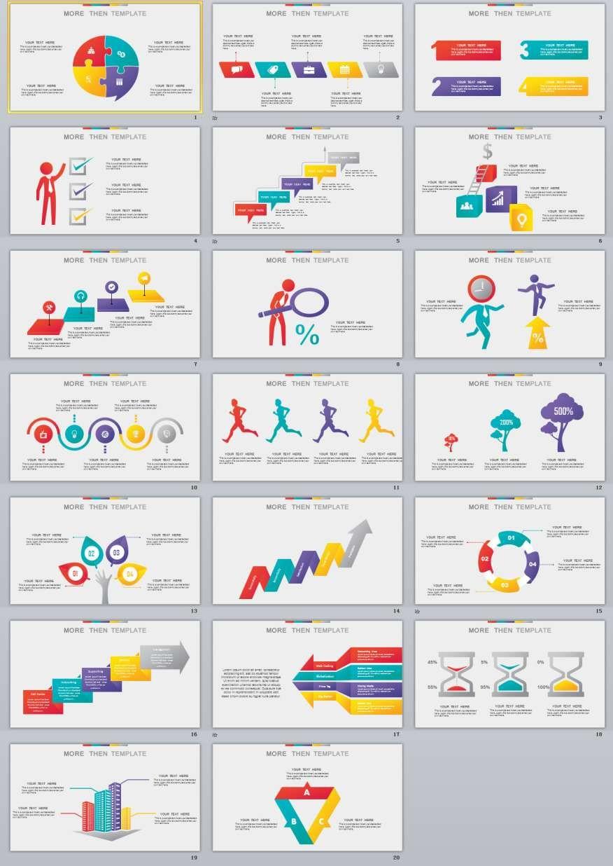 20 infographics charts slides powerpoint templates presentation 20 infographics charts slides powerpoint templates toneelgroepblik Image collections