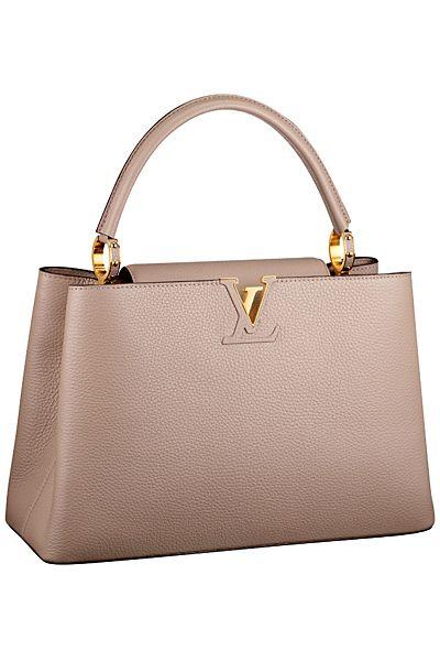 3968305c Lois Vuitton SS 2014 Capucine bag in nude. | ♡Pinterest: ℓuxulƗrɑv ...