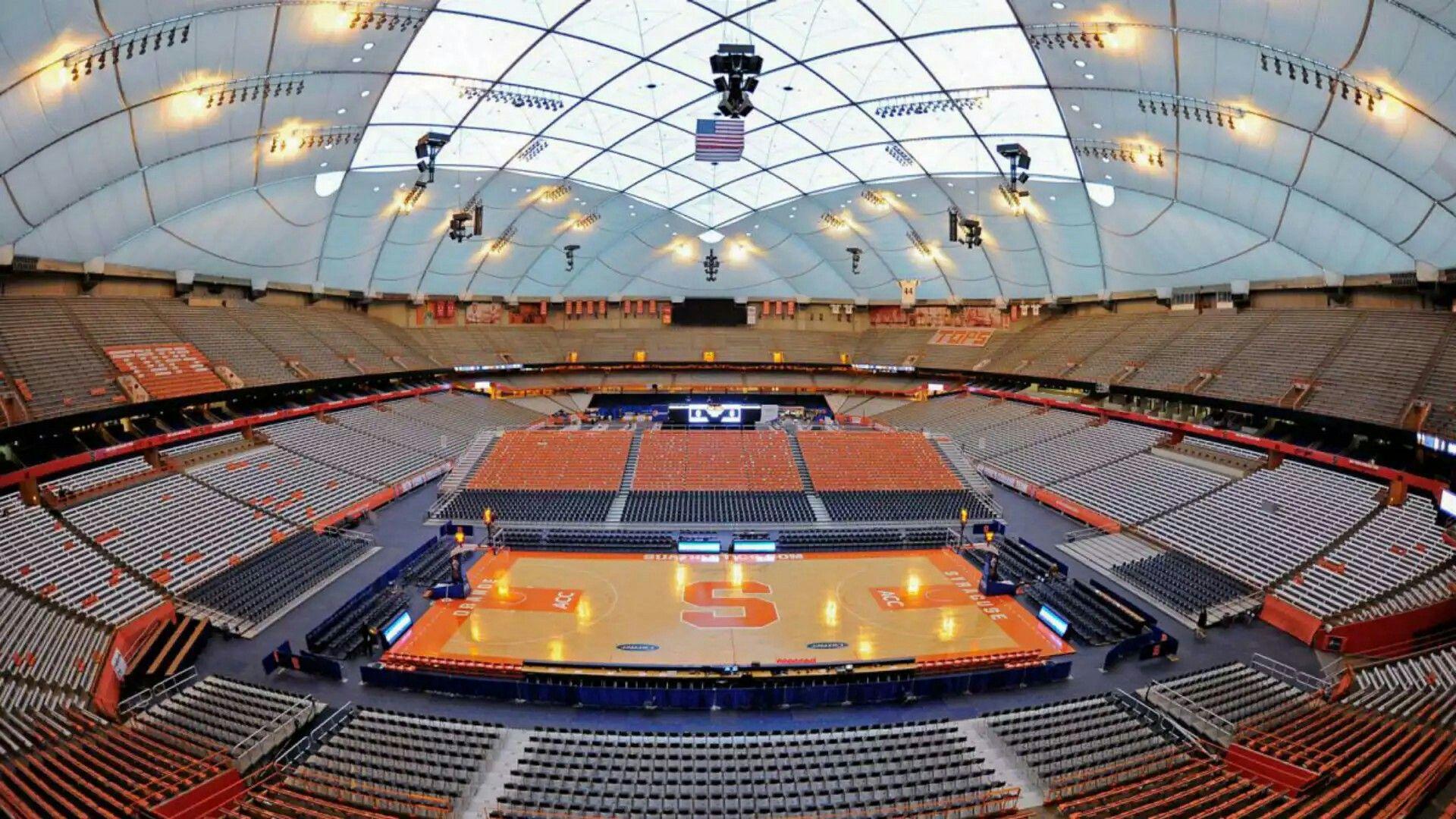 Syracuse University Basketball Stadium Carrier Dome Geiger