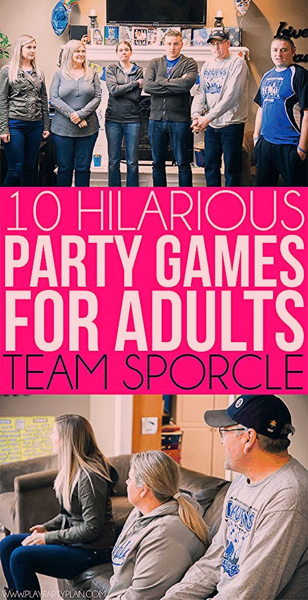 Hilarious Party Games for Adults