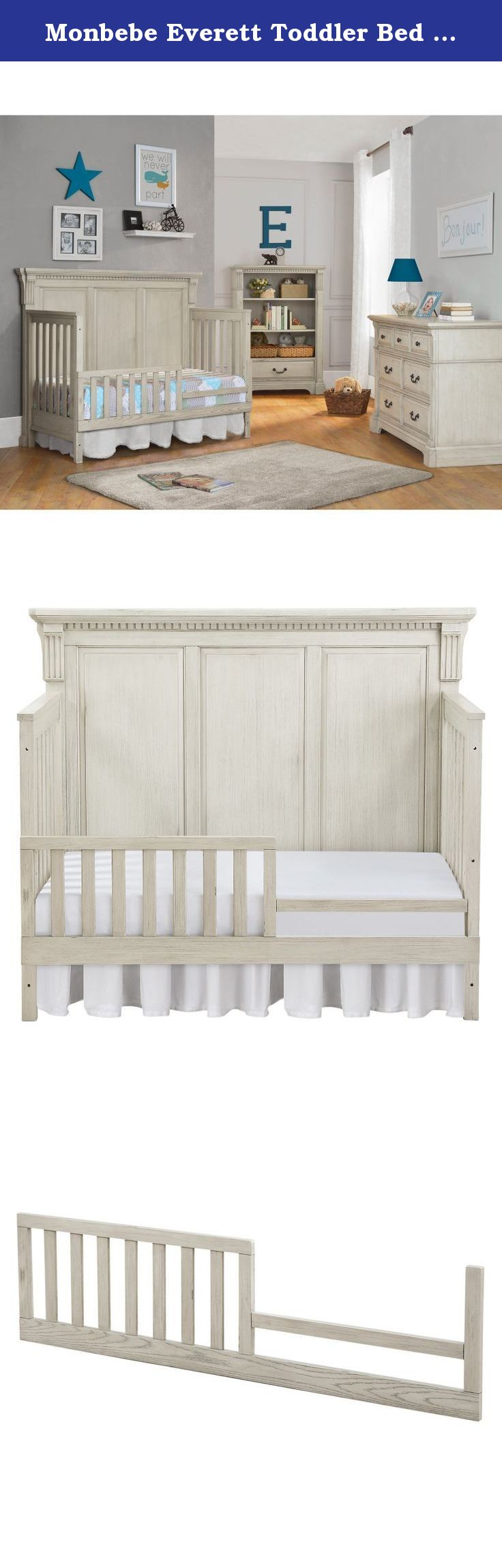 Your Baby Might Be Ready To Give Up His Or Her Crib But With The Monbebe Everett Toddler Bed Guard Rail