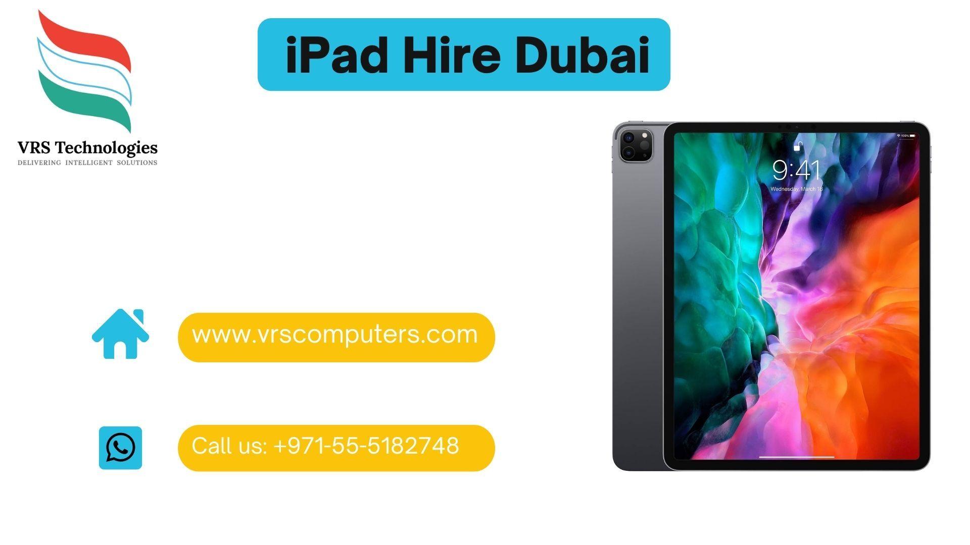 iPad Rental Dubai - Rent iPads for Events - iPad Rental ...