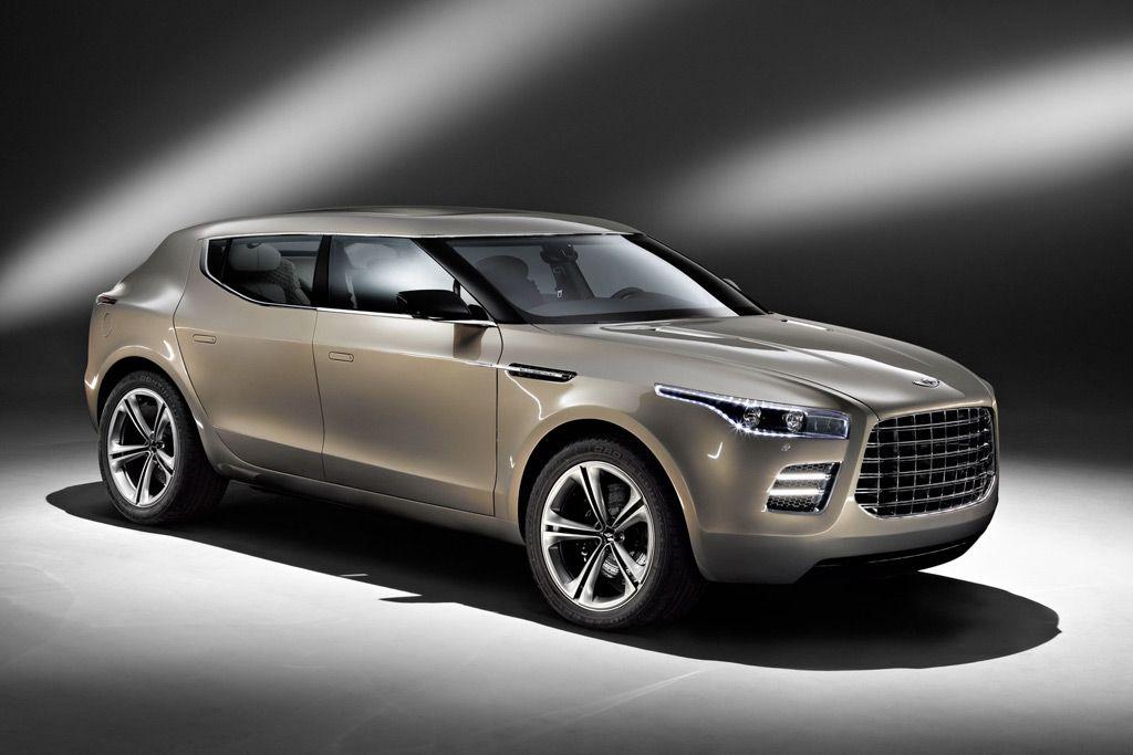 Aston Martin Lagonda Suv Concept Car Front Right Angle New Car