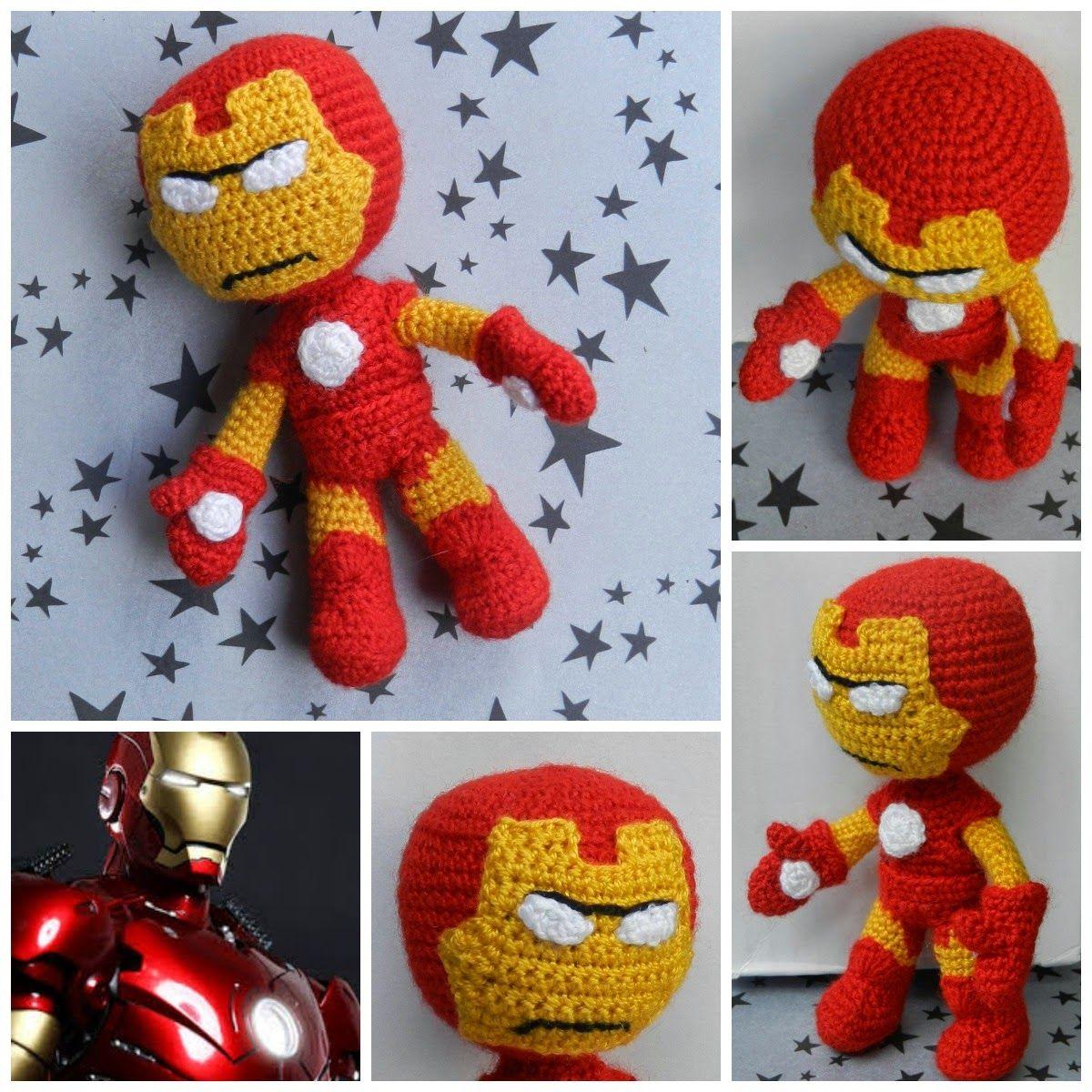 daxa rabalea: Iron Man amigurumi - patrón gratis | Amigurrumis ...