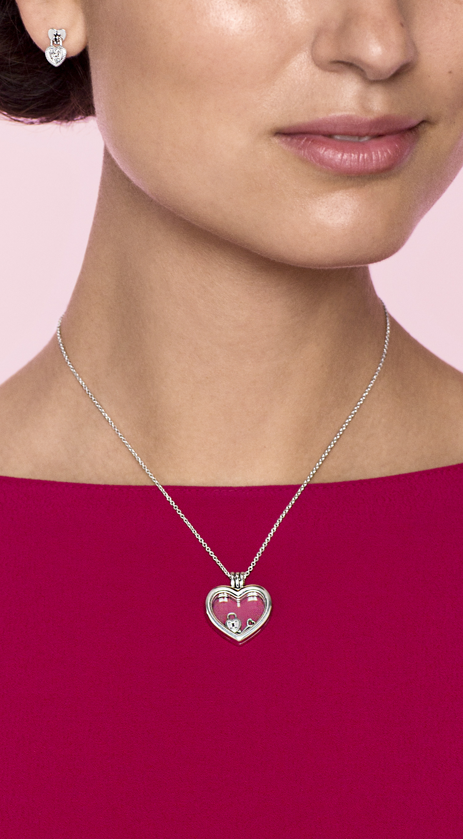 901de739e Lock your love in the PANDORA sterling silver heart locket - perfect for  Valentine's Day.