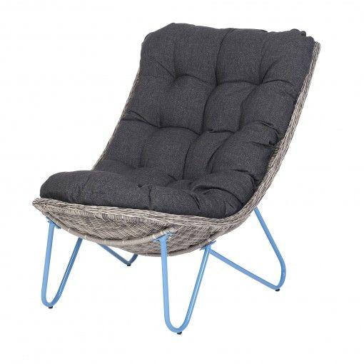 Hangmat Met Standaard Intratuin.Intratuin Loveseat Coen Blauw Intratuin Tuin Chair Barcelona