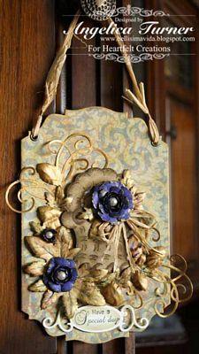Heartfelt Creations | Botanical Floral Hanging Decoration