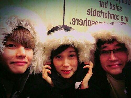 V ( Taehyung ) & his family
