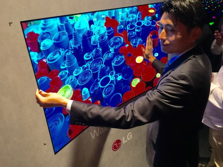 LG Unveils Crazy Bendable OLED TV in 2020 Oled tv, Cool