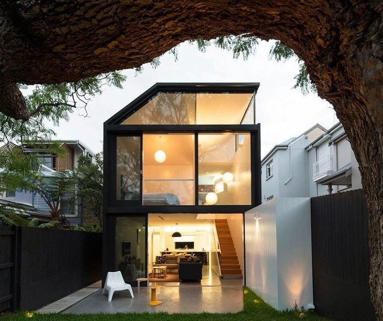 extension maison 70 ides cratives pour faire grandir votre espace - Facade Maison Style Moderne