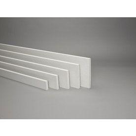 James Hardie Prime Woodgrain Fiber Cement Trim Siding (Common: 3.5-in x 12-ft; Actual: 3.5-in H x 12-ft L)