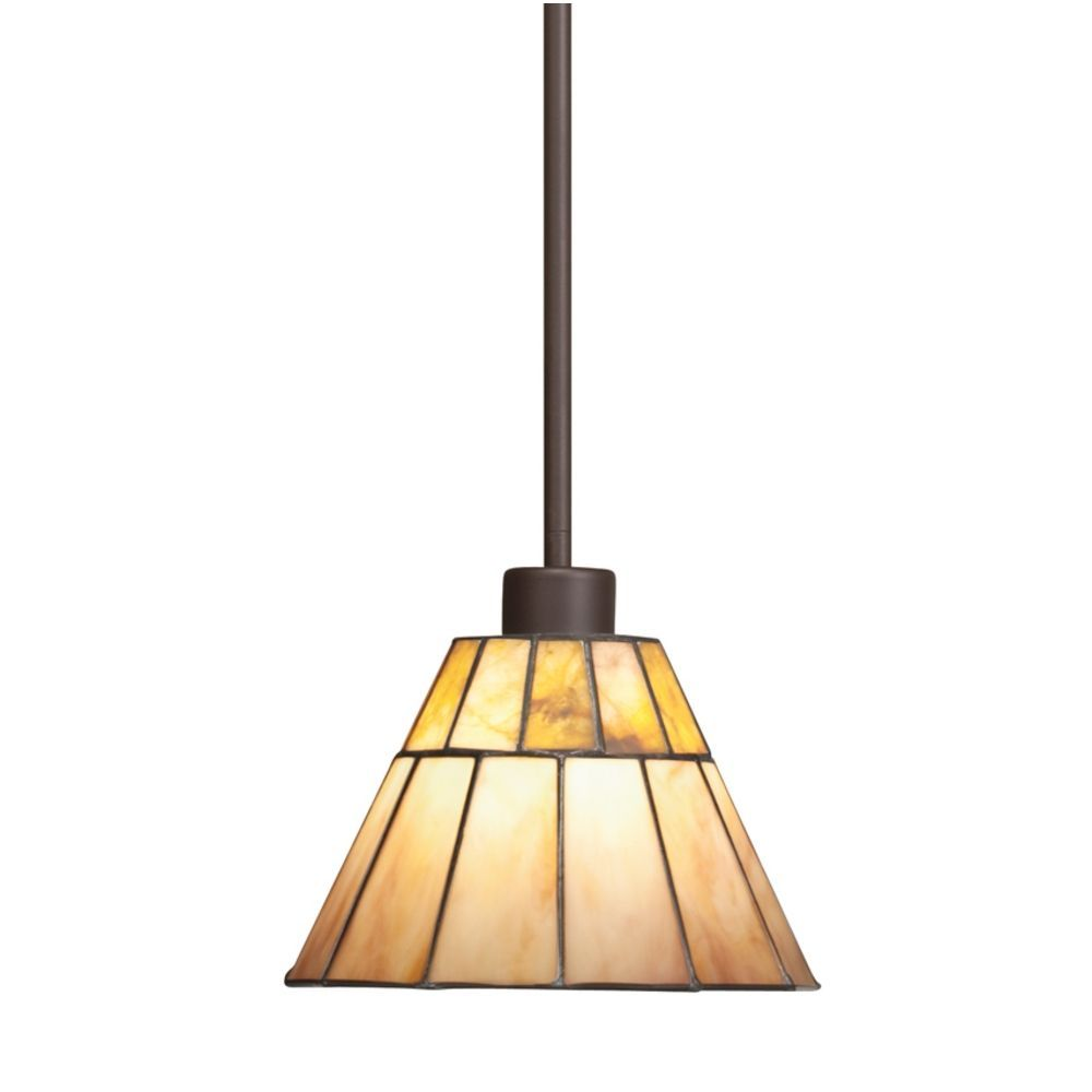 Kichler Craftsman Tiffany Mini Pendant Light 65354