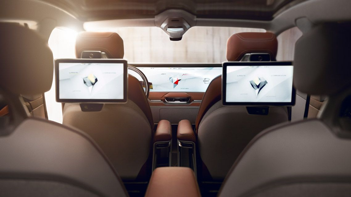 Byton Interior Electric Cars Concept Cars Automobile Companies