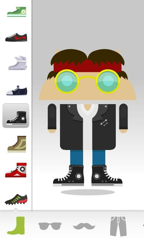 Androidify... Create characters of all your favourite