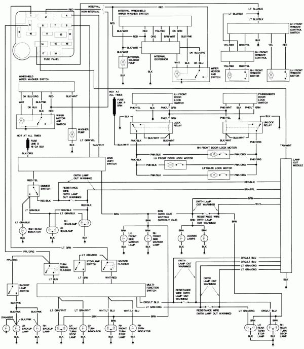1990 Ford Truck Wiring Diagram and Ford Steering Column Diagram | Repair  Guides | Wiring | Ford f150, Ford truck, Steering column | Ford Super Duty Steering Column Wiring Diagram |  | www.pinterest.ph