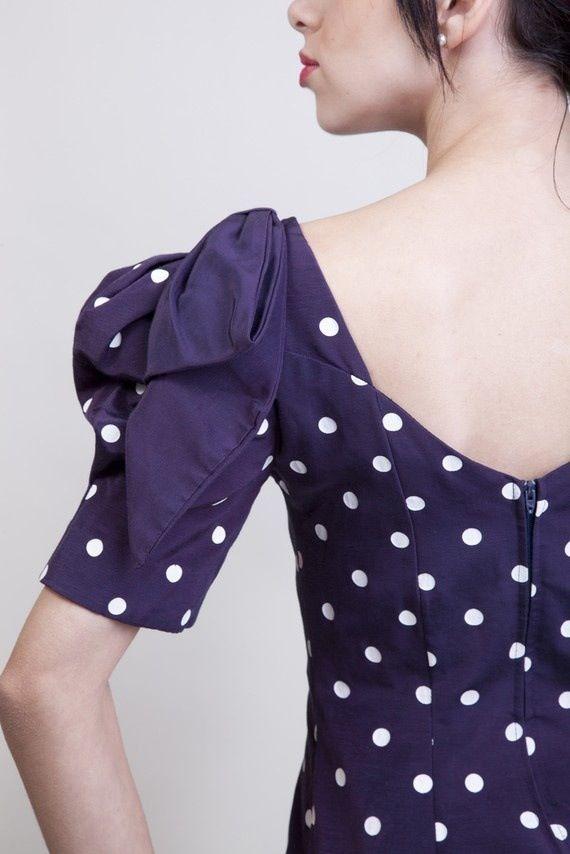 Polka dot with bow | Fashion | Pinterest