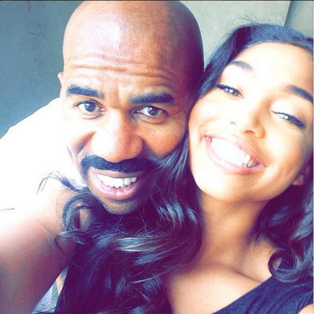 Steve Harvey Wishes His Baby Girl a Happy Birthday (With