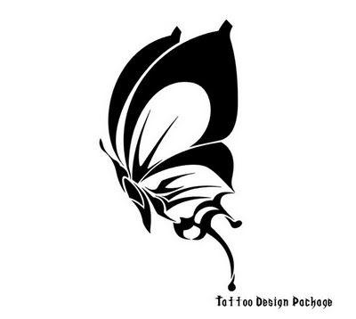 tattoo design butterfly6.jpg (400×358)
